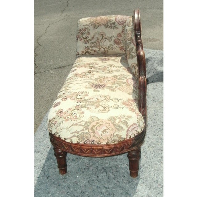 Child Size Victorian Style Swan Chaise Lounge For Sale In Las Vegas - Image 6 of 8