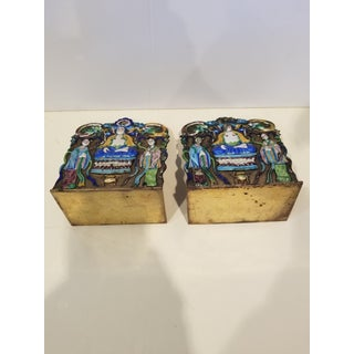 Chinese Export Bookends Preview