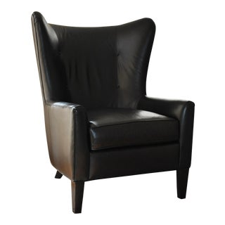 Modern Contemporary Styled Wing Chair For Sale
