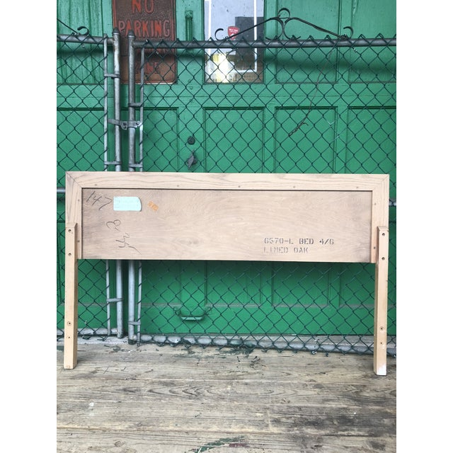 1960s Mid Century Modern Full Size Headboard by Kent Coffey For Sale - Image 5 of 7