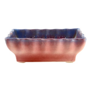 1960s Hull Purple & Ruby Red Ombre Planter