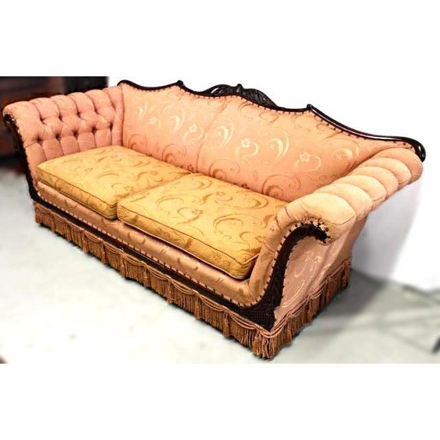 Mid-Century Upholstered Sofa - Image 4 of 7