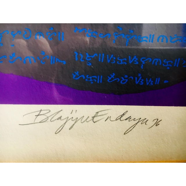 "1976 ""Forefathers II"" Silkscreen Print by Imelda Cajipe-Endaya For Sale - Image 4 of 5"
