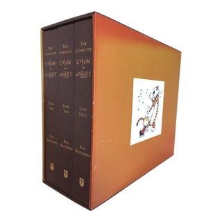 Calvin and Hobbes Decorative Books Box Set - Complete 3 Volumes For Sale