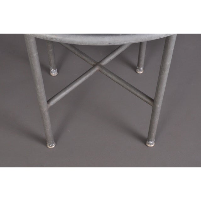 Blue Stone , Indoor/ Outdoor Table Switzerland Circa 1950 For Sale - Image 9 of 9