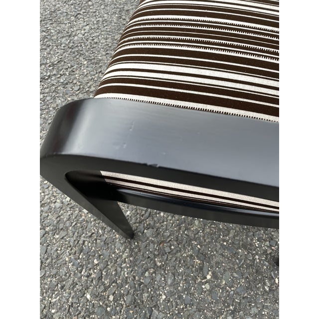 Paul Frankl for Johnson Furniture Zig Zag Armchair 1950s For Sale - Image 10 of 13
