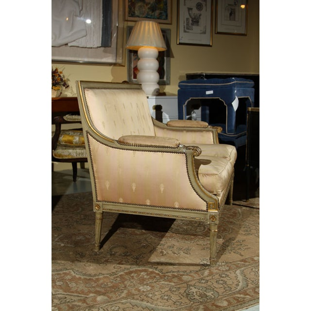 French Louis XVI Settee by Maison Jansen For Sale In New York - Image 6 of 10