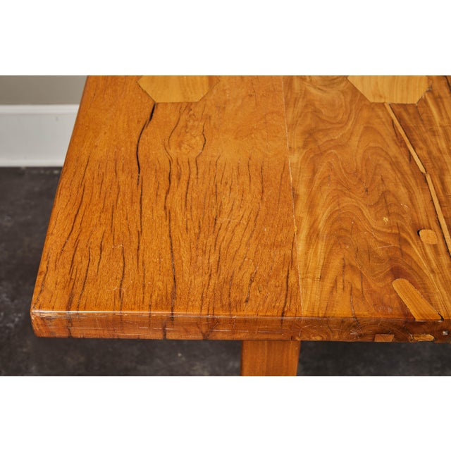Rare 19th Century Solid Molave Wood Table For Sale - Image 9 of 10