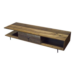 Mid-Century Rustic Coffee Table