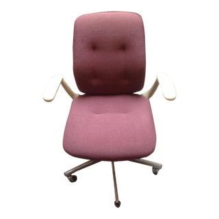 Mid-Century Steelcase Chrome Office Chair