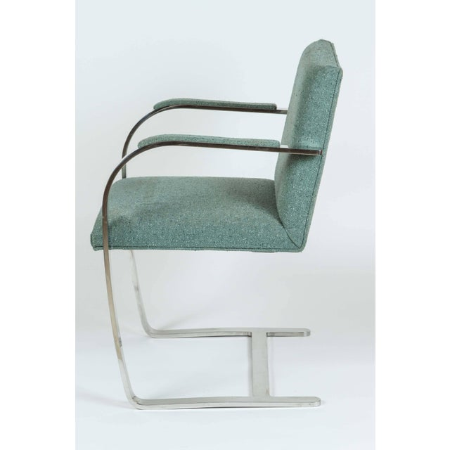 Knoll Vintage Mid Century Mies Van Der Rohe Brno for Knoll Chair- a Pair For Sale - Image 4 of 10