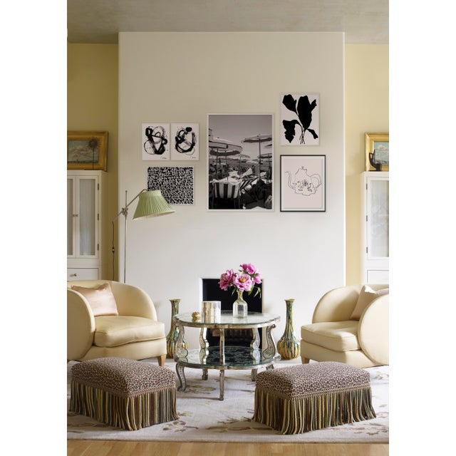 Contemporary Black and White Gallery Wall, Set of 6 For Sale - Image 3 of 10