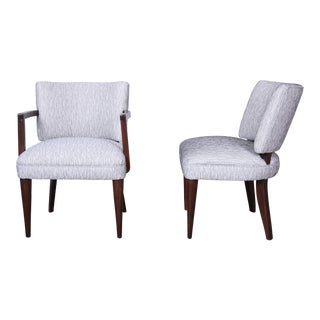 Gilbert Rohde for Herman Miller Mid-Century Modern Fully Restored Dining Chairs, Set of 9 For Sale