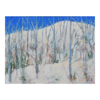 "Contemporary Landscape Painting, ""The Morning After the Snowstorm"" by Stephen Remick. For Sale"