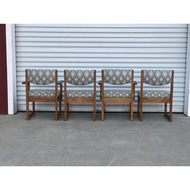 Mid-Century Modern Mid Century Drexel Heritage Dining Chairs- Set of 4 For Sale - Image 3 of 11