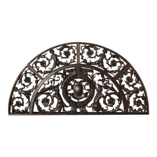 Antique Carved Wood Transoms
