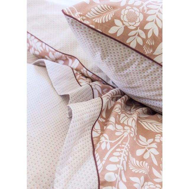 Contemporary Alexandre Turpault L'ile Rousse Pillow Sham, Euro For Sale - Image 3 of 4