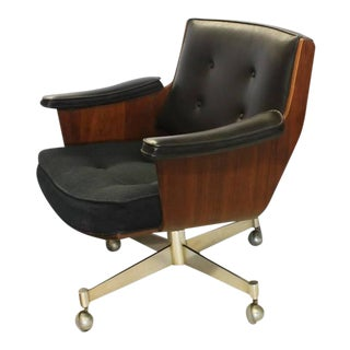 Thonet Executive Swivel Desk Chair For Sale