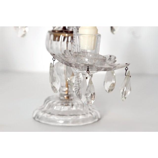 George II Cut Glass Girandoles / Lustres - Image 8 of 11