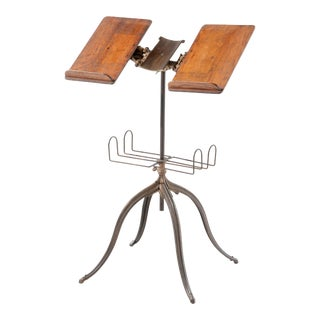 19th Century Industrial Dictionary Stand For Sale