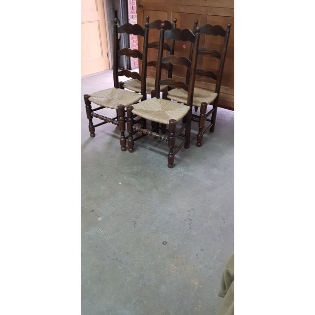 1900s Vintage Provencal Dining Chairs- Set of 4 For Sale - Image 10 of 10
