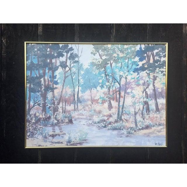 Lee Reynolds Vanguard Studios Oil Painting For Sale - Image 10 of 10