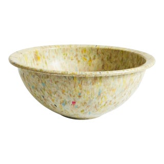 Mid Century Melmac Confetti Mixing Bowl For Sale