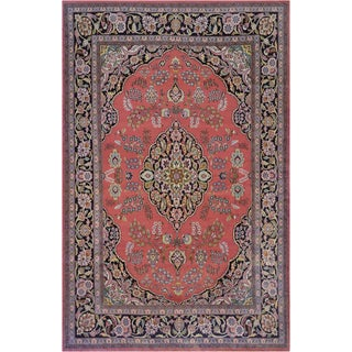 """Mansour Handwoven Indian Rug - 6' X 9'10"""" For Sale"""