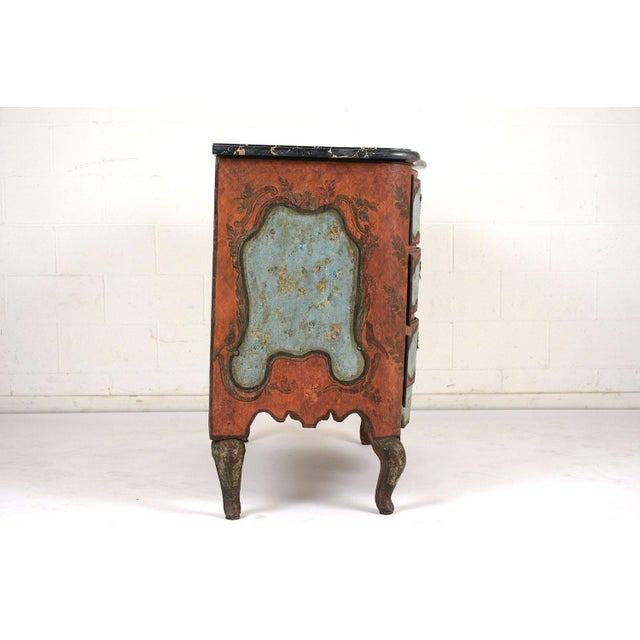 Late 18th Century Polychrome Chest of Drawers For Sale - Image 11 of 13