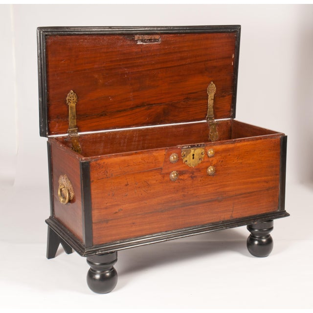 Indo-Dutch 19th C. Trunk - Image 3 of 6
