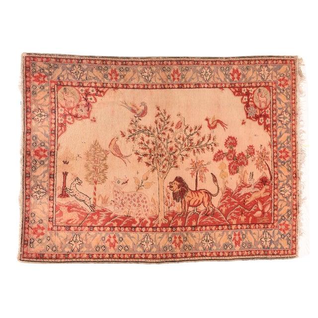 Antique Turkish Sivas Rug For Sale - Image 4 of 4