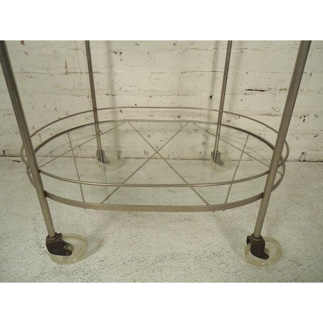 Mid 20th Century Italian Mid Century Style Tea Cart For Sale - Image 5 of 6