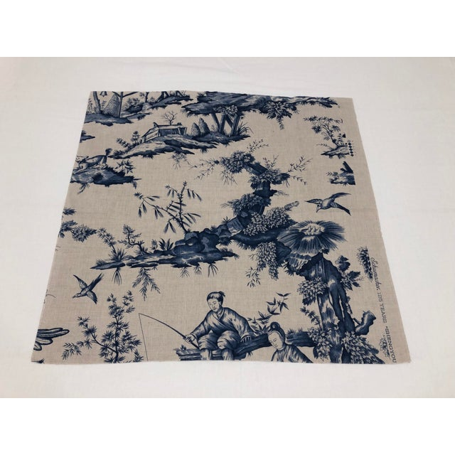 This delightful chinoiserie pattern, Shengyou Toile, is based on an 18th century document in Schumacher's archives. Its...