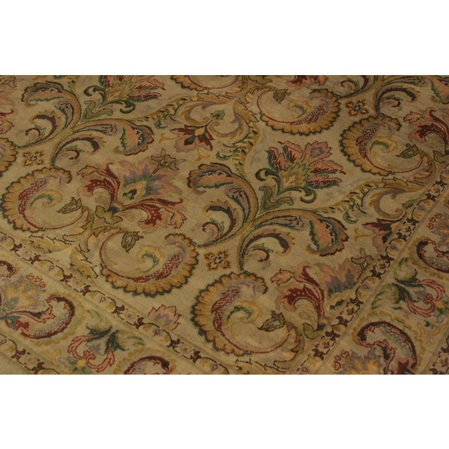 2000s Pak-Persian Deandra Gray/Gray Wool Rug - 4'0 X 6'0 For Sale - Image 5 of 8