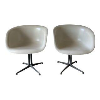 1960s Vintage Eames La Fonda Chairs- A Pair For Sale