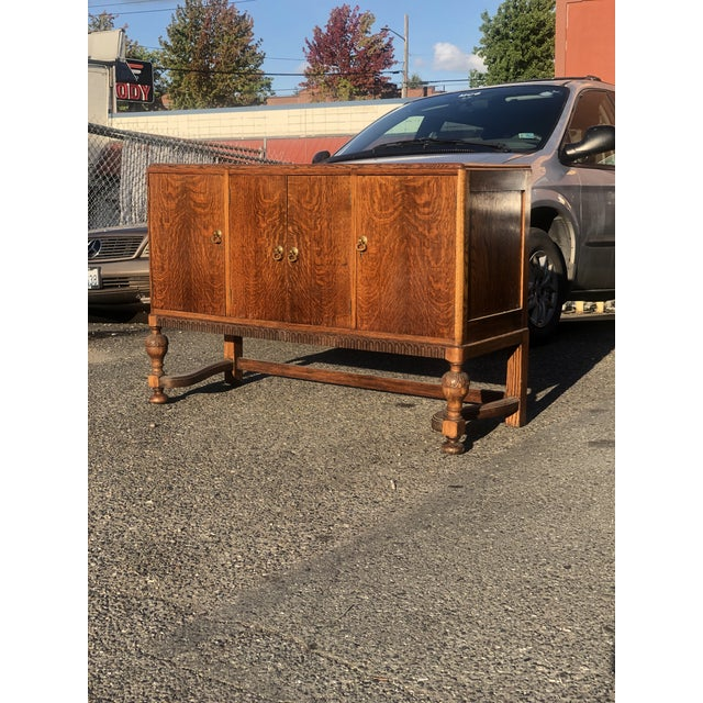19th Century English Welsh Oak Sideboard For Sale - Image 4 of 9
