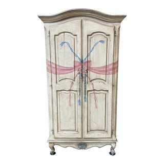 Custom Hand Made French Armoire For Sale