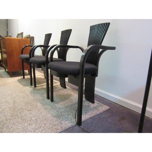 "Torstein Nilsen for Westnofa ""Totem"" Chairs - Set of 3 For Sale - Image 7 of 11"