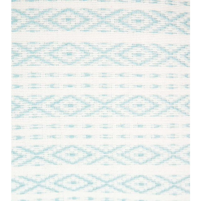 Mexican Serenity Blue Handwoven Pillow - Image 2 of 7