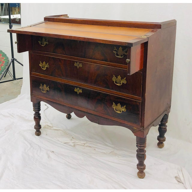 Antique Secretary Cabinet For Sale - Image 12 of 13