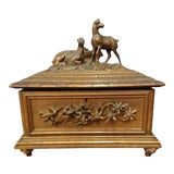 Image of 19th Century Antique Black Forest Box For Sale