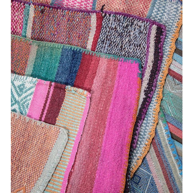 Handwoven Peruvian Throw For Sale - Image 4 of 4