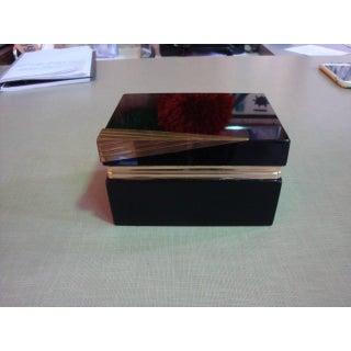 Black Opaline Boxes - a Pair Preview