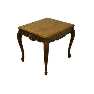 20th Century French Provincial Weiman Furniture Accent End Table For Sale