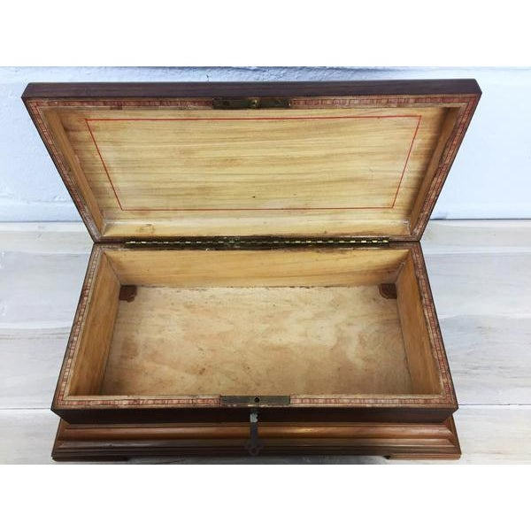 Rare H.Upmann Vintage Cigar Tobacco Box Humidor For Sale In New York - Image 6 of 11