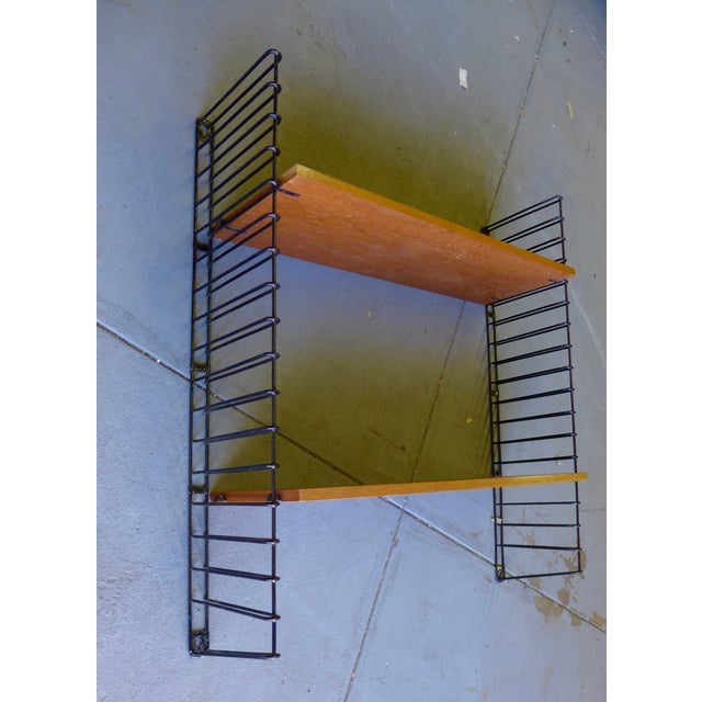 Mid-Century Modern String Shelving Unit - Image 2 of 6