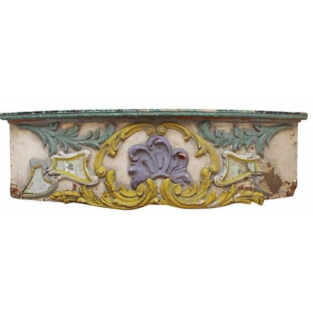 Antique Parisian Carousel Panel For Sale
