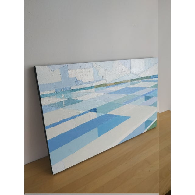 Contemporary Contemporary Acrylic Painting by Andy Dobbie, the Inland Sea II For Sale - Image 3 of 9