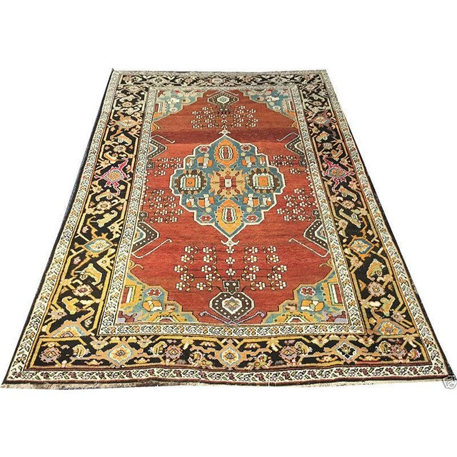 "Antique Caucasian Karabagh Rug - 4'8"" x 7'2"" - Image 1 of 5"