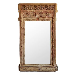 Antique Rajasthan Full Length Mirror For Sale